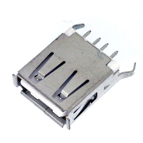 USB A TYPE SOCKET RECEPTACLE PCB DIP STRAIGHT TYPE
