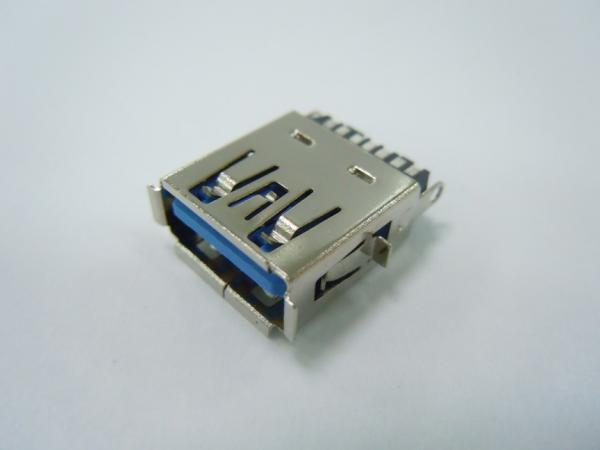 USB 3.0 A Type Receptacle, Solder Type 11Positions